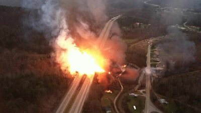 Natural Gas Pipeline Explosion, Sissonville, WV