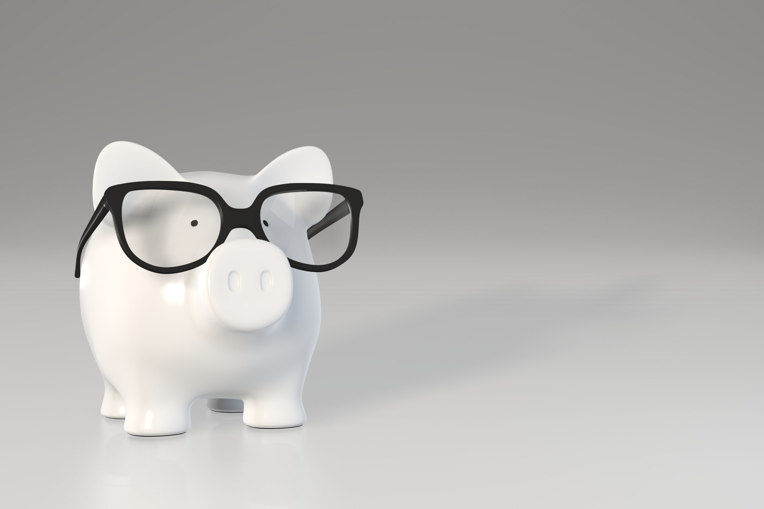 Piggy Bank Glasses